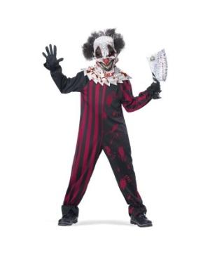 Killer Clown Boys Costume