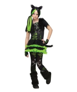 Kool Kat Girls Costume