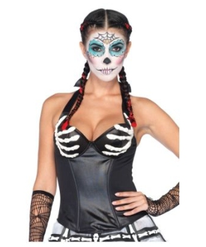 Latex Bony Corset Costume