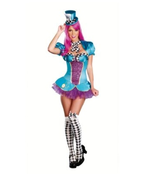 Mad Hatter Womens Costume