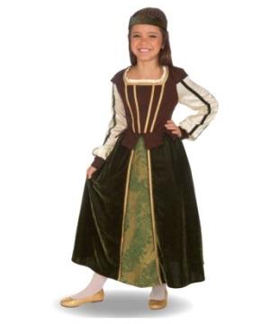 Maid Marion Kids Costume