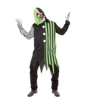 Mens Cleaver Clown Costume
