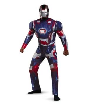Mens Iron Patriot Costume