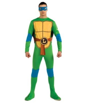 Mens Ninja Turtles Leonardo Costume