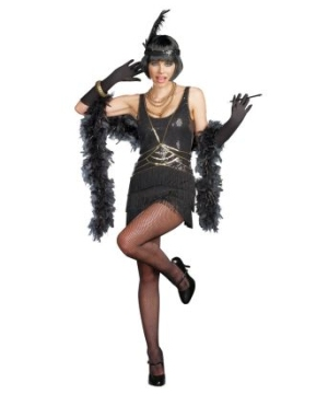 Womens Sexy Gangster Moll Costume