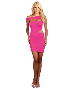 Neon Dress Pink Costume