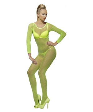 Neon Green Bodystocking Costume