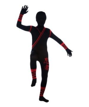 Ninja Skin Suit Boys Costume
