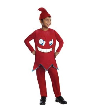 Pacman Blinky Boys Costume