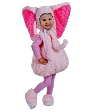 Pink Elephant Baby Costume