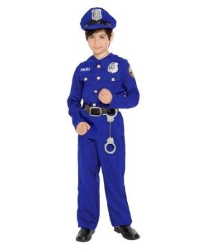 Police Officer Boys Costume