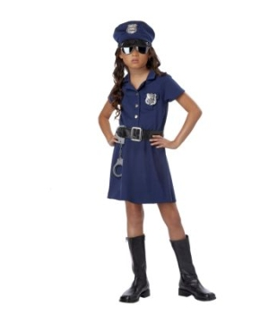 Police Officer Girls Costume