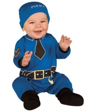 Policeman Baby Costume