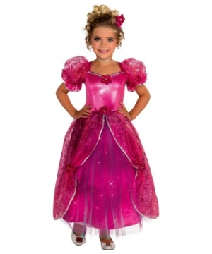 Pretty N Pink Girl Costume