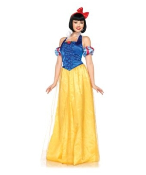 Princess Snow White Womens Costume