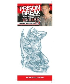 Prison Break Submissive Devil Tattoo