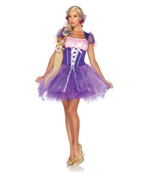 Rapunzel Womens Disney Costume