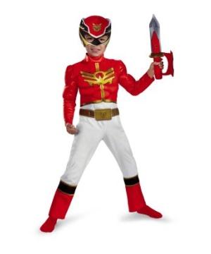 Red Power Ranger Megaforce Baby Costume
