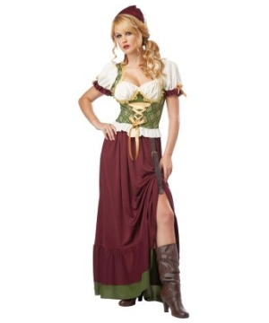Renaissance Wench Women Costume