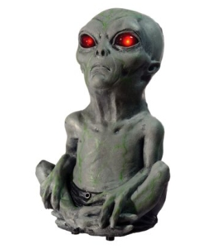 Roswell Action Alien Baby Decoration