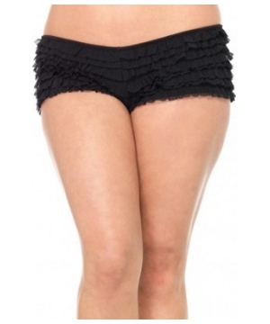 Ruffled Boy Shorts plus size