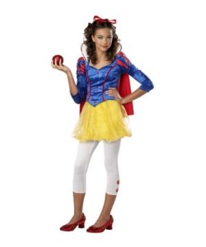 Sassy Snow White Girls Costume