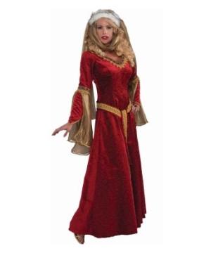 Scarlet Renaissance Women Costume