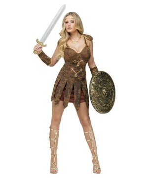 Sexy Gladiator Womens Costume