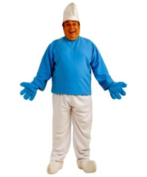 Smurfs plus size Costume