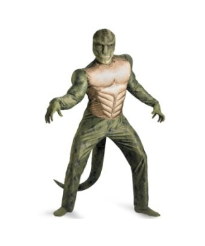 The Amazing Spider Man Movie Lizard Muscle Adult plus Costume