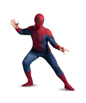 The Amazing Spider Man Movie Men plus Costume deluxe