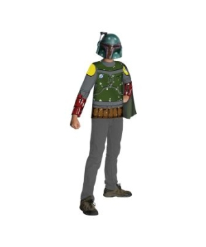 Stars Wars Boba Fett Boys Costume Kit
