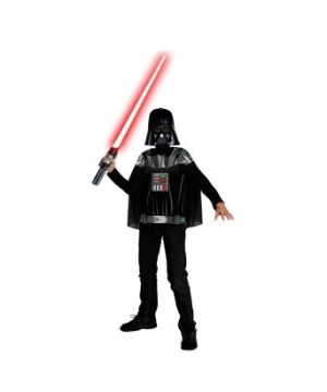 Stars Wars Darth Vader Boys Costume Kit
