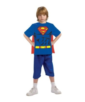 Superman Kit Boys Costume