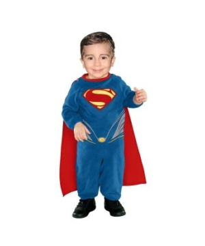 Superman Man Steel Baby Costume