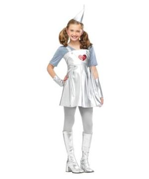 Tin Gal Kids Costume