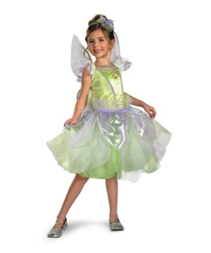 Tinkerbell Tutu Disney Girls Costume