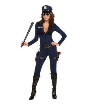 Traffic Stopping Cop Women Costume