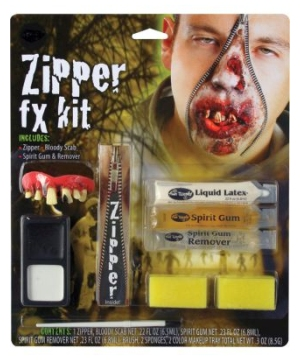 Zipper Character Zombie