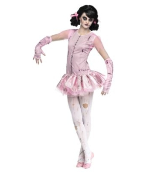 Zombie Ballerina Girls Costume