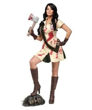 Zombie Hunter Sexy Womens Costume