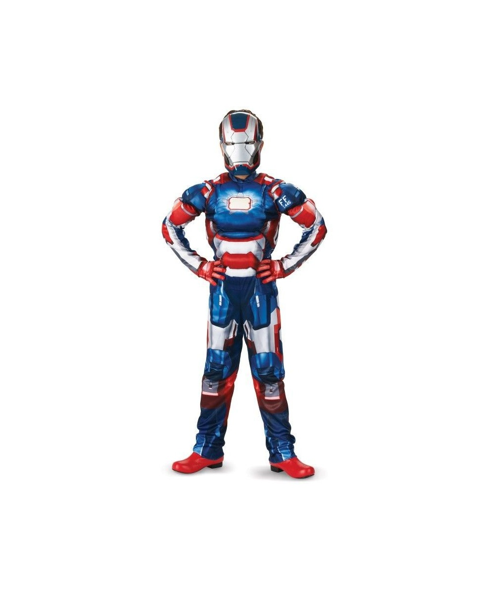 Iron Patriot Costume For Kids