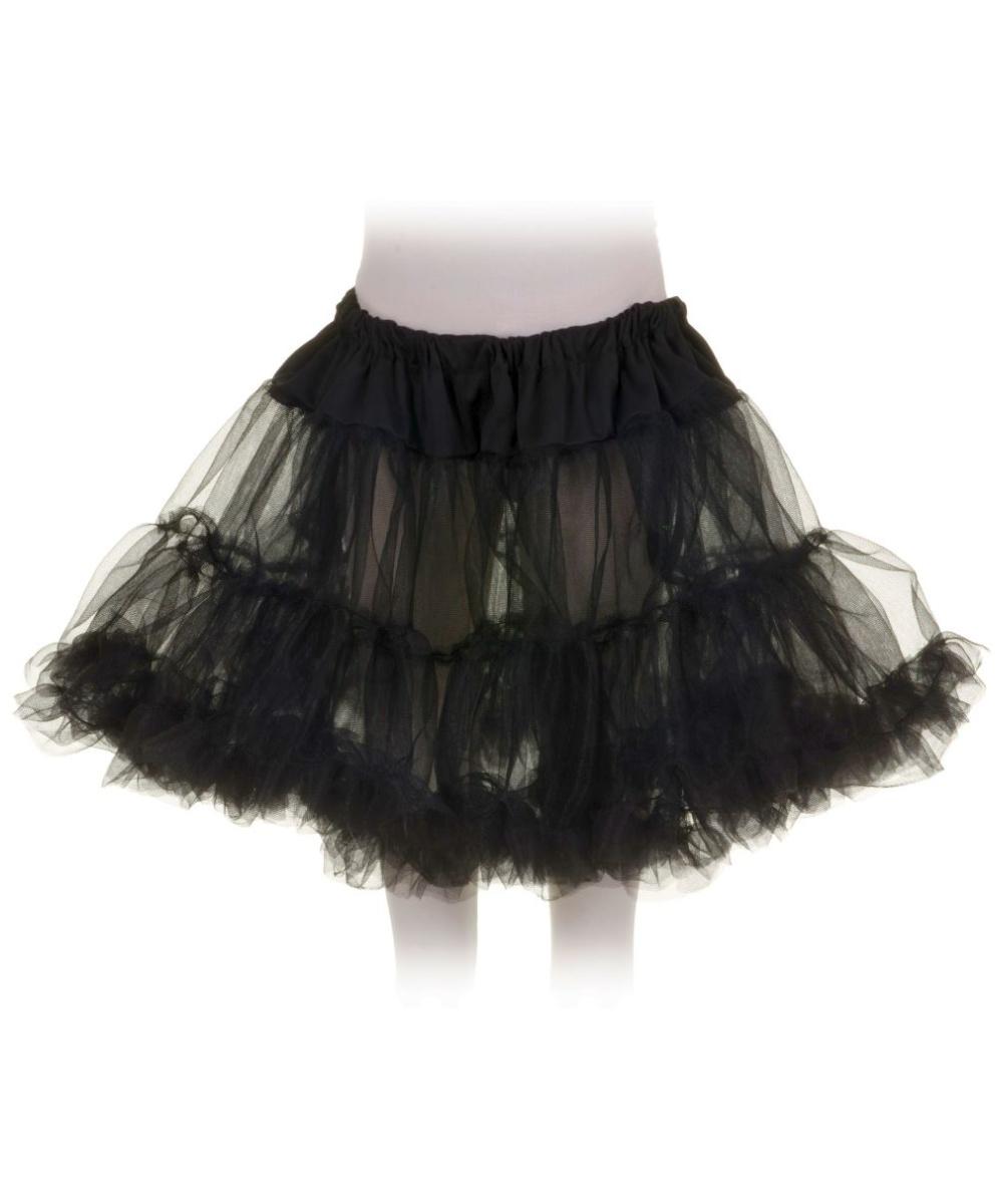 black petticoat kids tutu girls halloween costumes - Halloween Petticoat