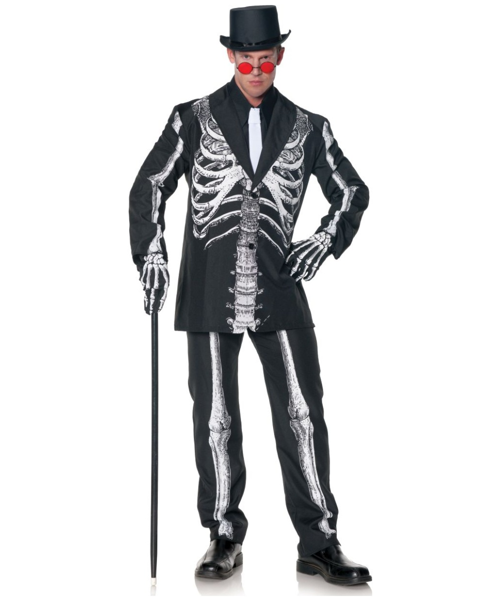 Adult Bone Daddy Plus Costume Men