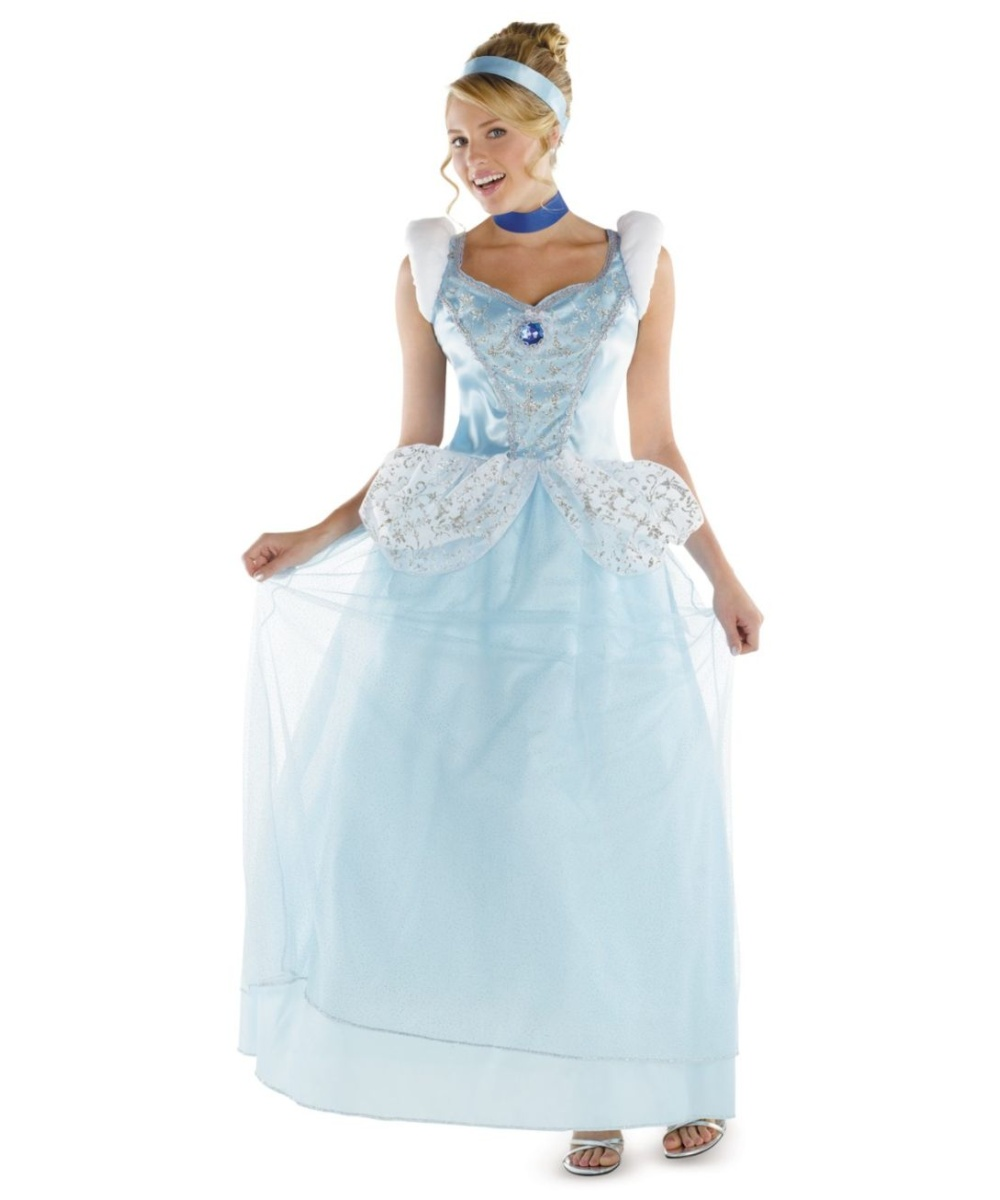 cinderella disney princess adult costume - plus size disney costumes