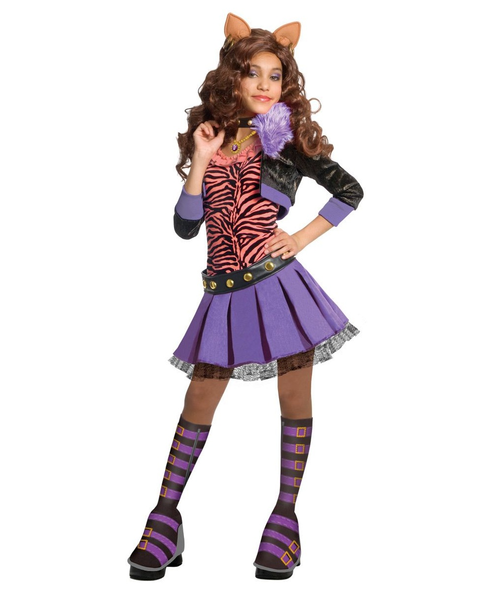 clawdeen wolf kids animal costume halloween costumes - Wolf Costume Halloween