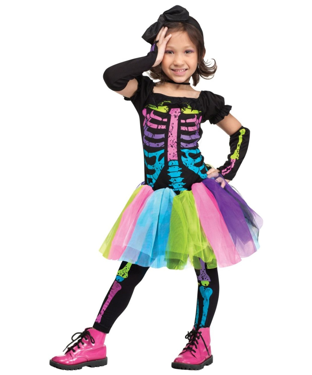 cutest funky punky bones kids costume girls funky costumes