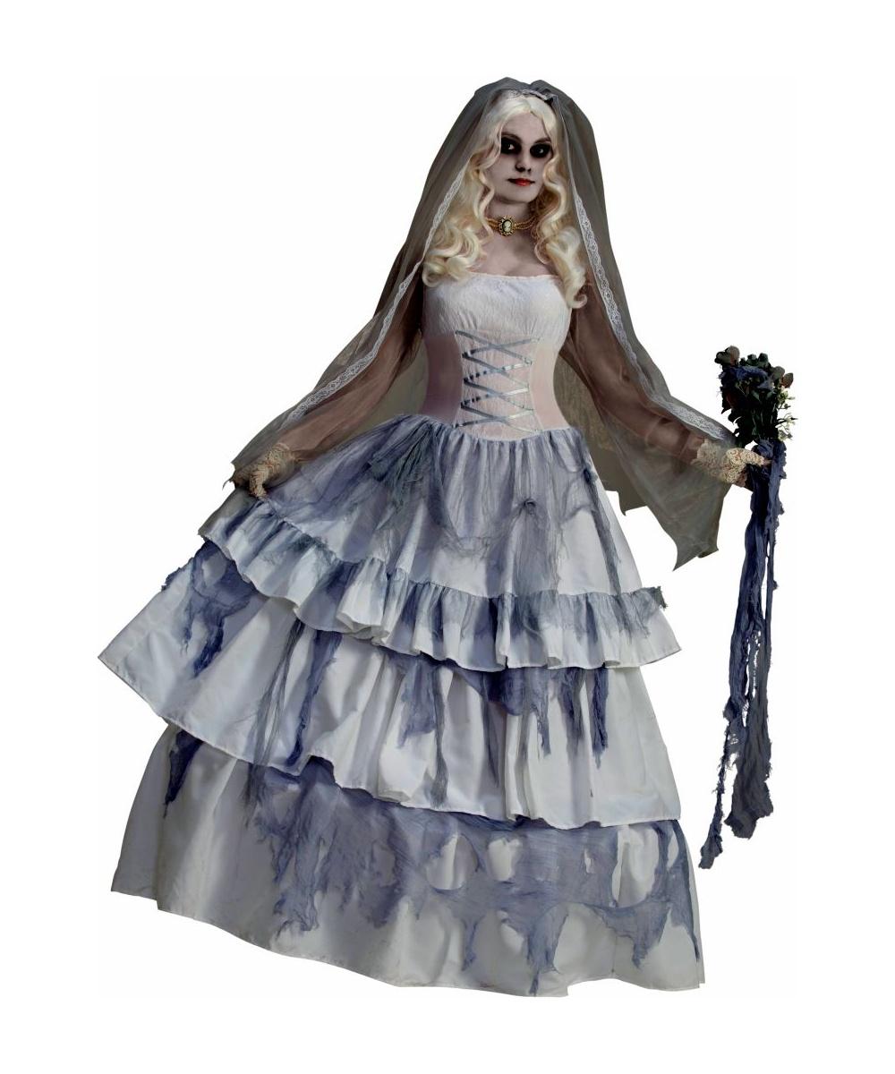 Adult Ghost Bride Halloween Costume - Women Halloween Costumes