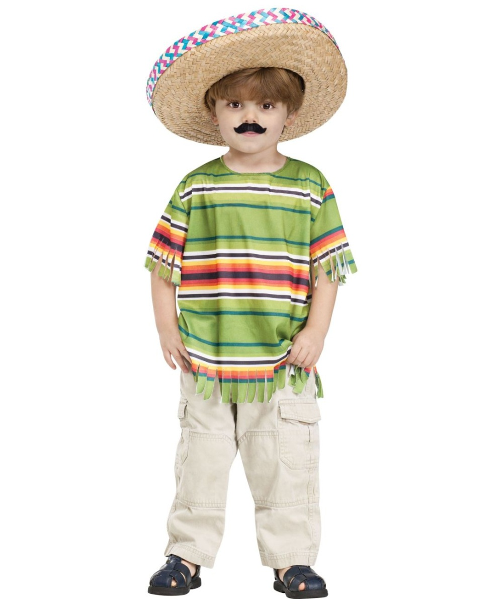 Little Amigo Kids Costume - Boys Mexican Costumes