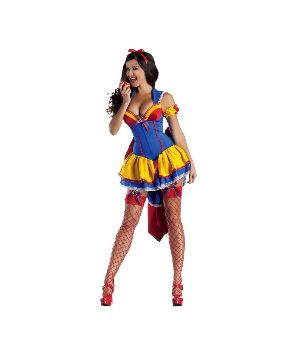 Apple Poison Body Shaper Snow White Adult Costume - Women Apple ...